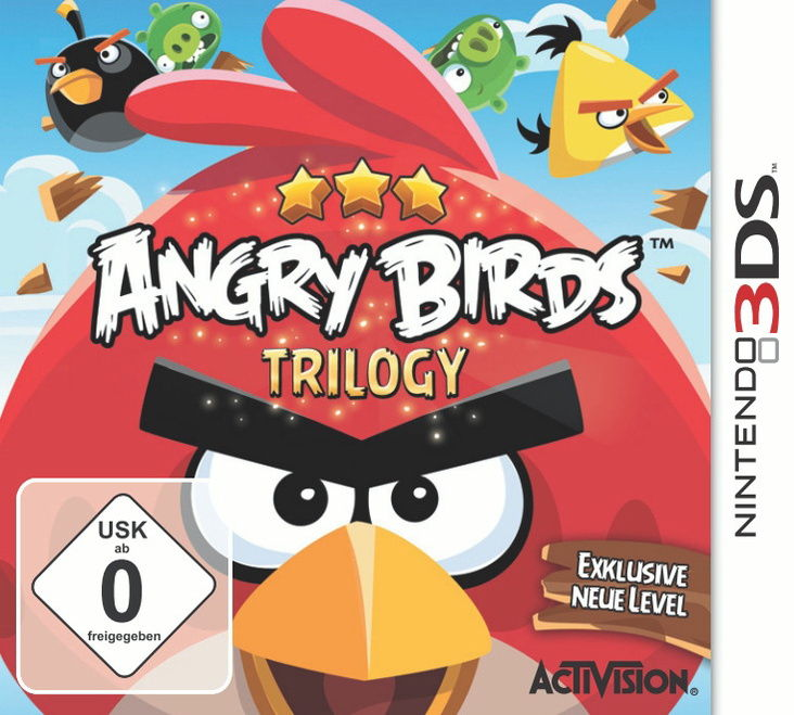 Angry Birds Trilogy - [3DS]