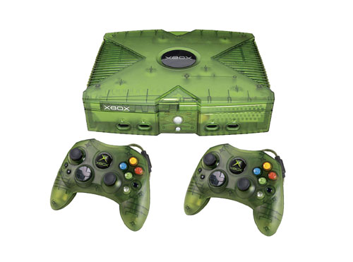 Microsoft Xbox Konsole inkl. 2 Controller - Limited Edition