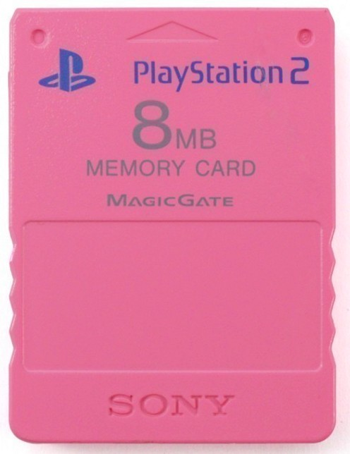 Sony PS2 Memory Card 8MB - Pink