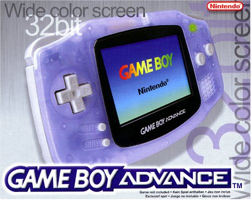 Nintendo Game Boy Advance Konsole - Clear Blue