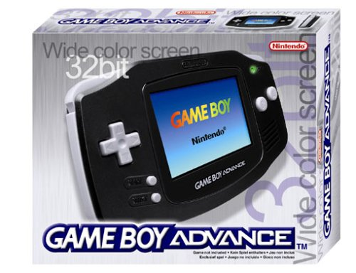 Nintendo Game Boy Advance Konsole - Schwarz