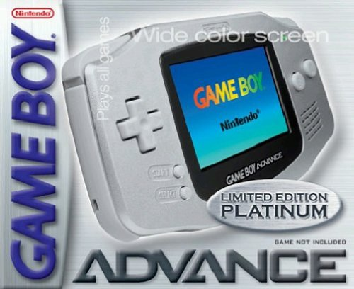 Nintendo Game Boy Advance Konsole - Silber