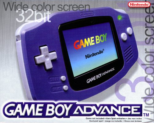 Nintendo Game Boy Advance Konsole - Purple