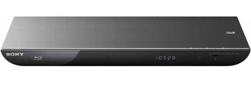 Sony BDP-S490 - 3D Blu-ray Player - Schwarz
