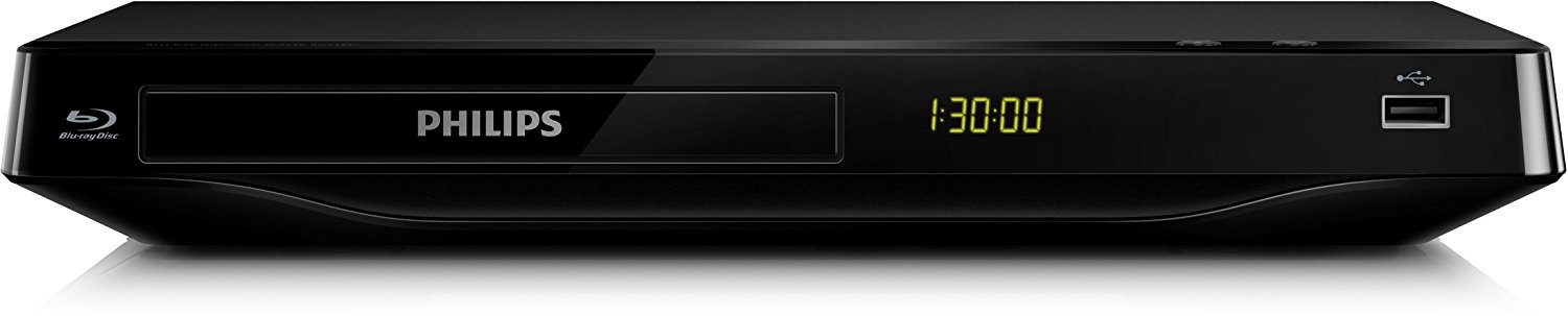 Philips BDP2930/12 Blu-ray-Player (HDMI, DivX-HD, WiFi-Ready, USB 2.0) - Schwarz