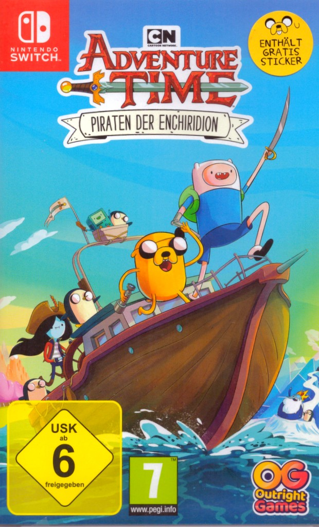Adventure Time: Pirats of the Enchiridan - [Switch]