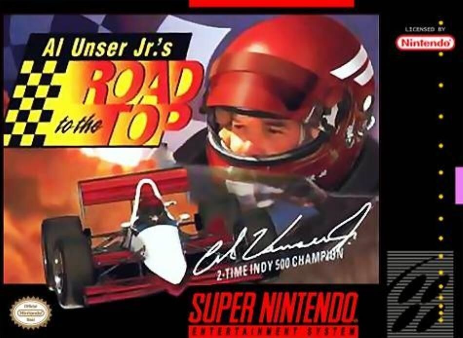 Al Unser Jr.'s Road to the Top - [SNES]