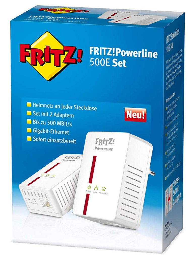 AVM FRITZ!Powerline 500E Set