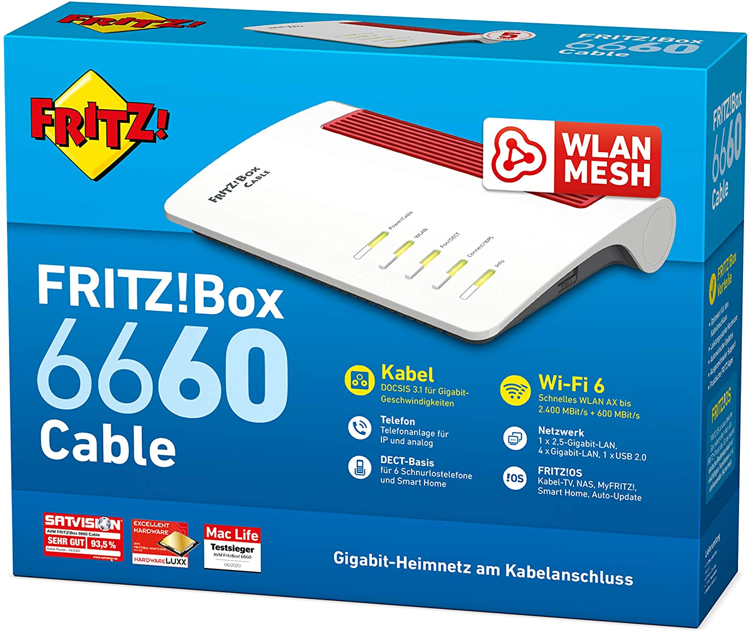 FRITZ!Box 6660 Cable